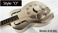Aiersi metal body resonator guitar