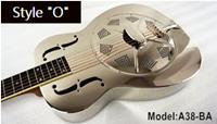 Aiersi metal body resonator guitar