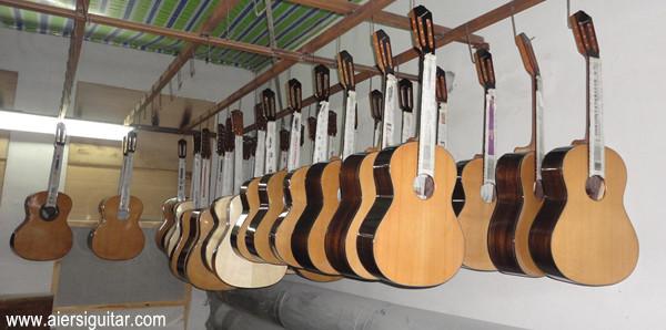 aiersi vintage handmade classical guitar  (3)