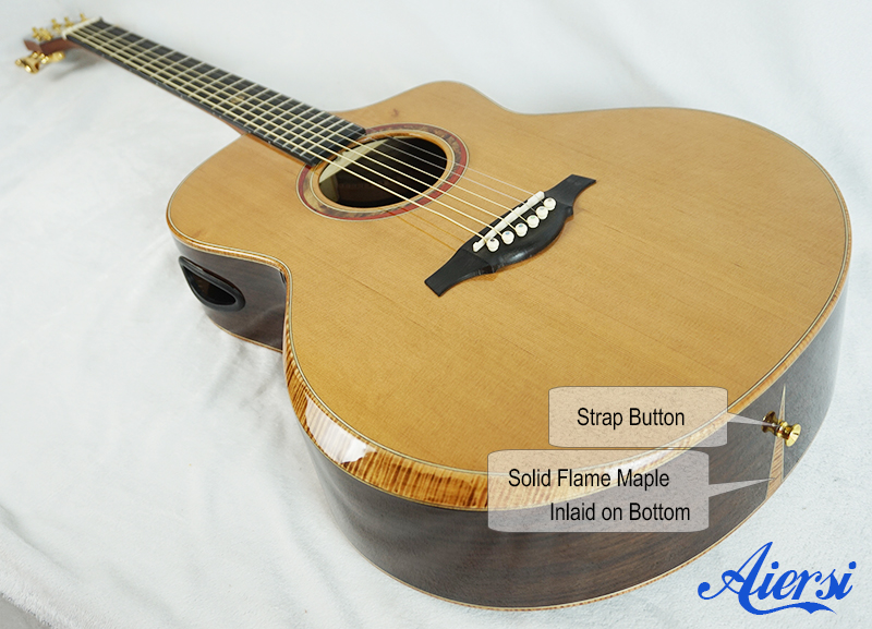 Aiersi Double Top Acoustic Guitar Model
