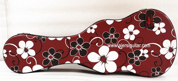 colour flower pattern ukulele case (2)