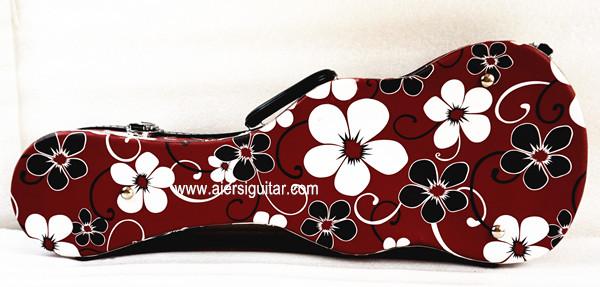 colour flower pattern ukulele case (3)