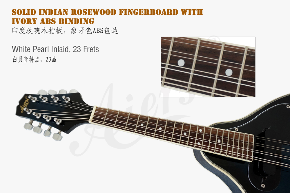 Aiersi brand colour A style electric mandolin  (5)