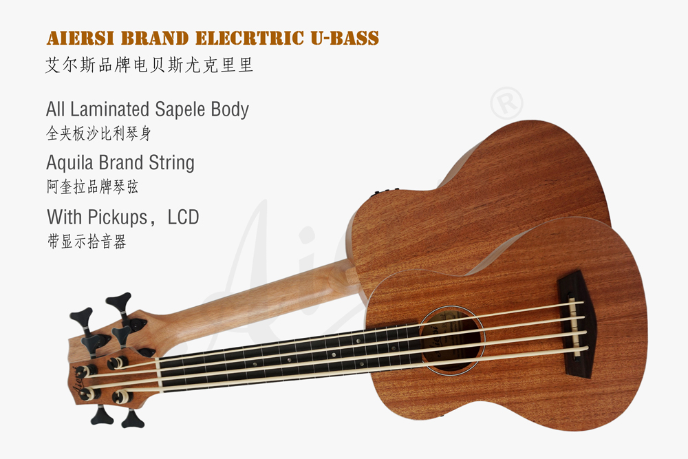 aiersi brand electric bass ukulele for sale (1)