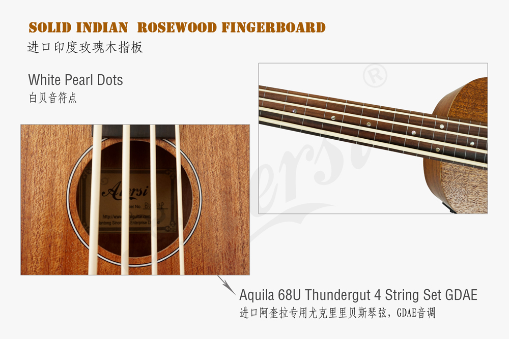 aiersi brand electric bass ukulele for sale (4)