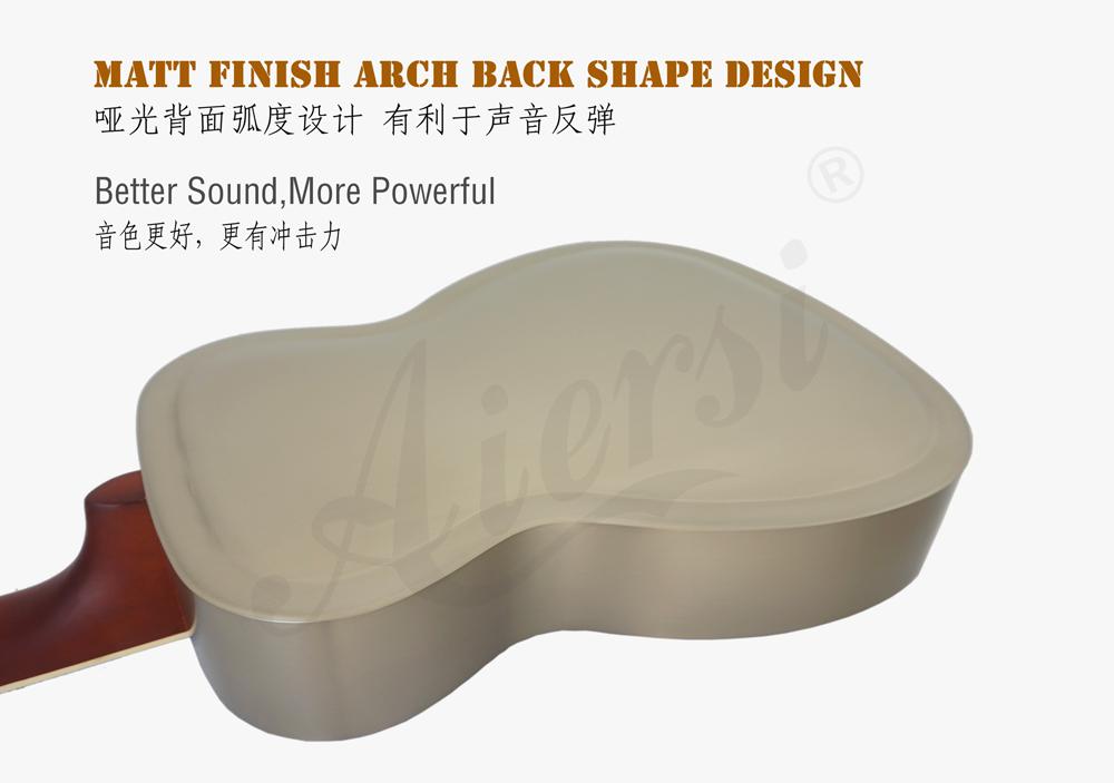 aiersi brand Style O brass body resonator guitar (3)