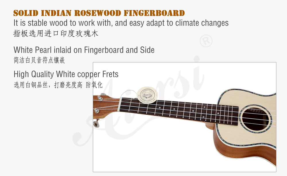 aiersi brand solid spruce concert ukulele for sale (4)