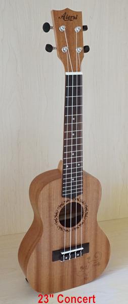 23 concert gecko ukulele