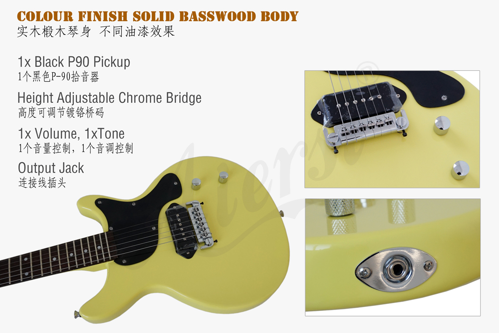 aiersi brand lp style electric guitar  (3)