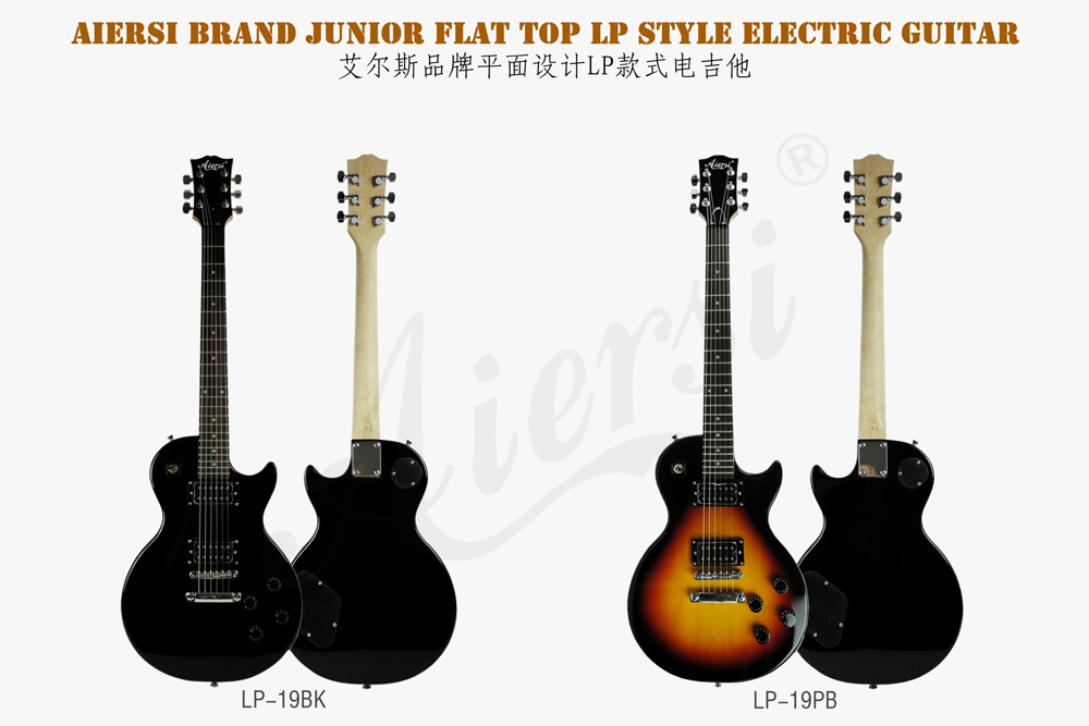 wholesale price LP junior flat top electric guitar  (1)