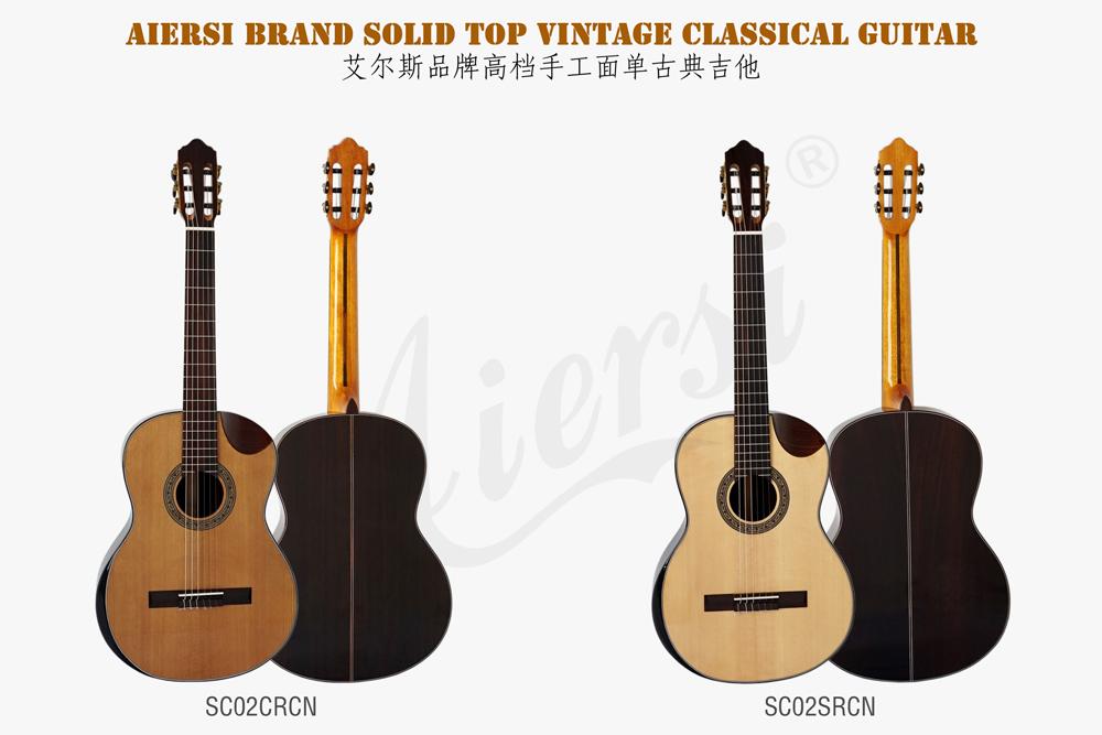 aiersi solid top classical guitar  (1)