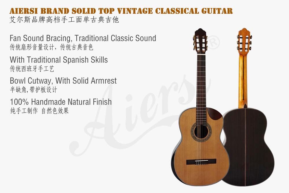aiersi solid top classical guitar  (2)
