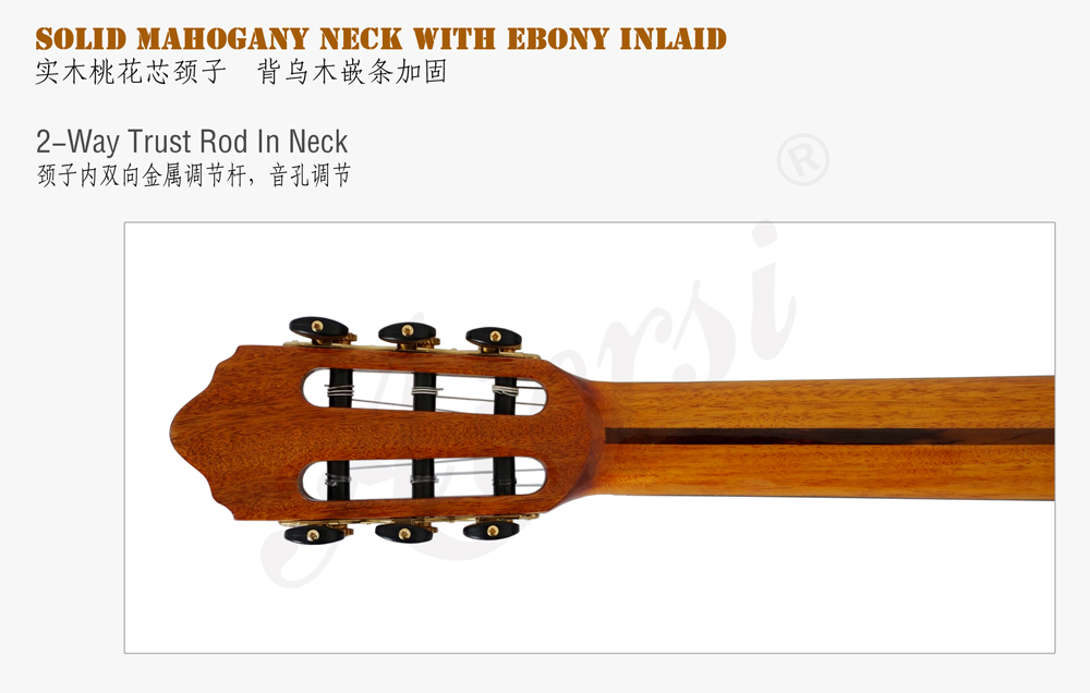 aiersi solid top classical guitar  (6)