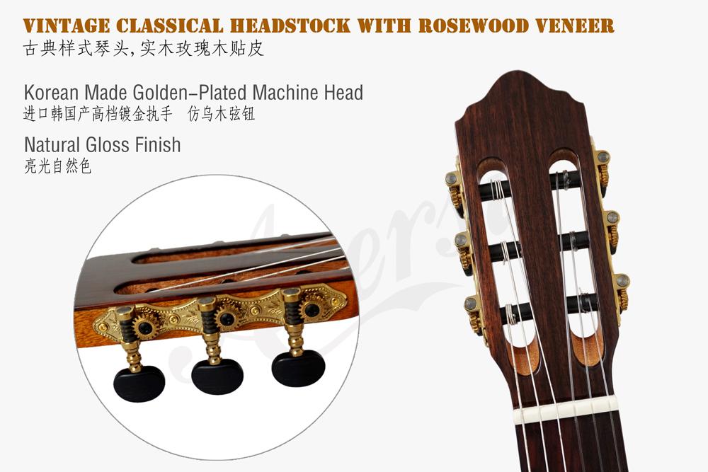 aiersi solid top classical guitar  (7)