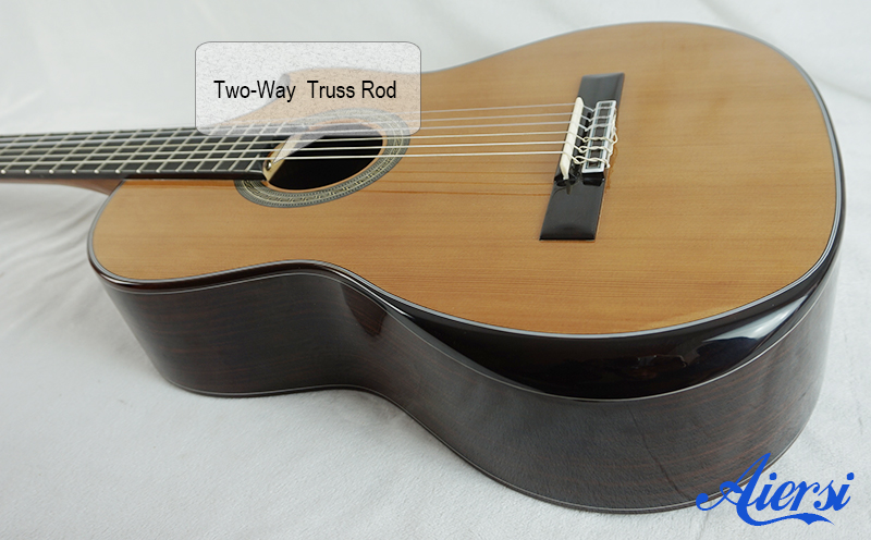 Aiersi High Quality Solid Spanish Classical Guitar Model
