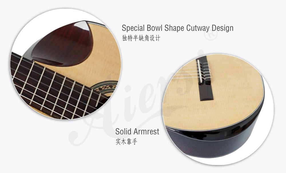 aiersi high grade handmade nylon string classical guitar (4)