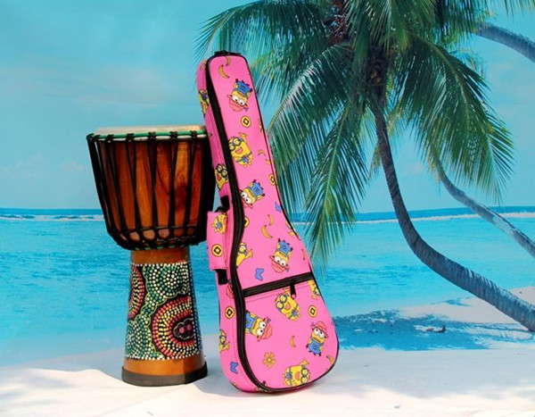 2016 aiersi brand padding color pattern ukulele bag (1)