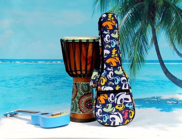 2016 aiersi brand padding color pattern ukulele bag (4)