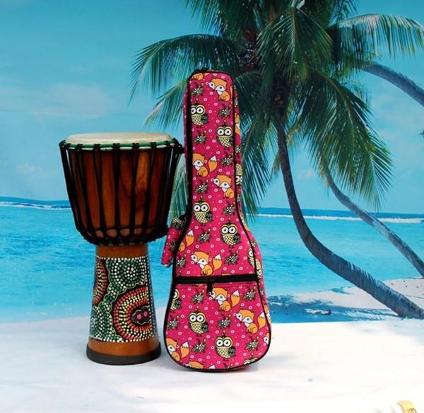 2016 aiersi brand padding color pattern ukulele bag (5)