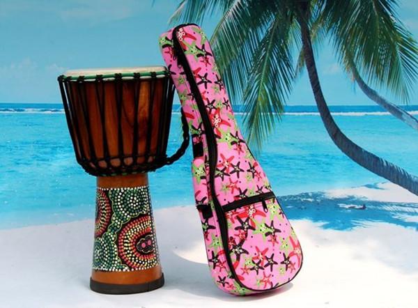 2016 aiersi brand padding color pattern ukulele bag (6)