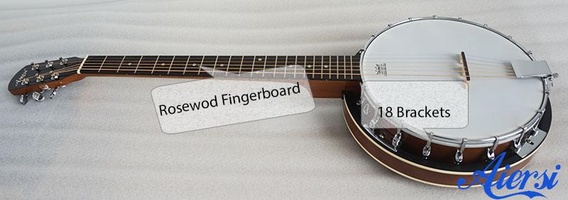 Aiersi 6 String Banjo
