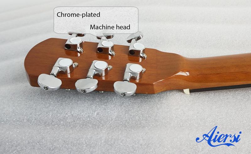 Aiersi banjo Machine head