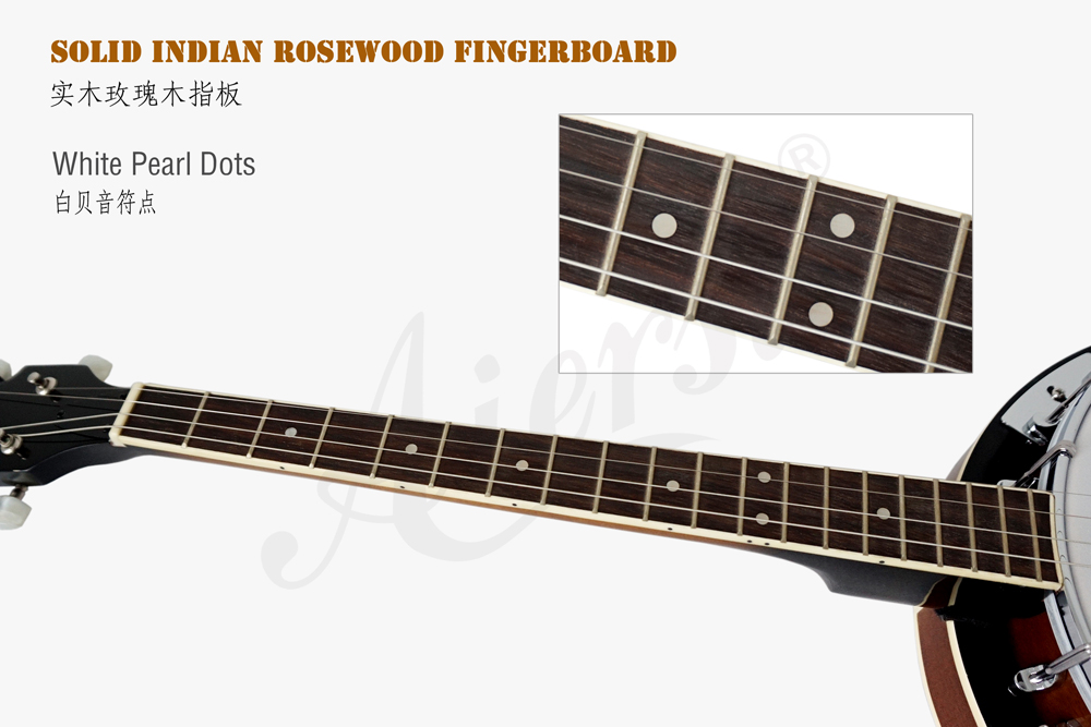 Aiersi brand  Fiberboard  for high quality 4-string banjo