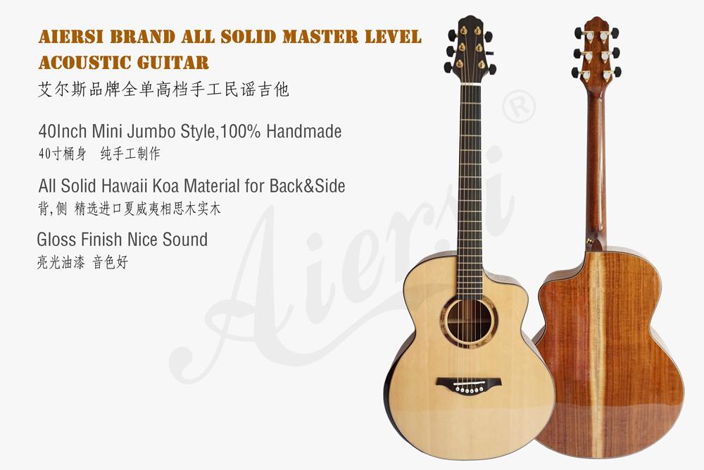 aiersi brand mini jumbo all solid acoustic guitar (1)