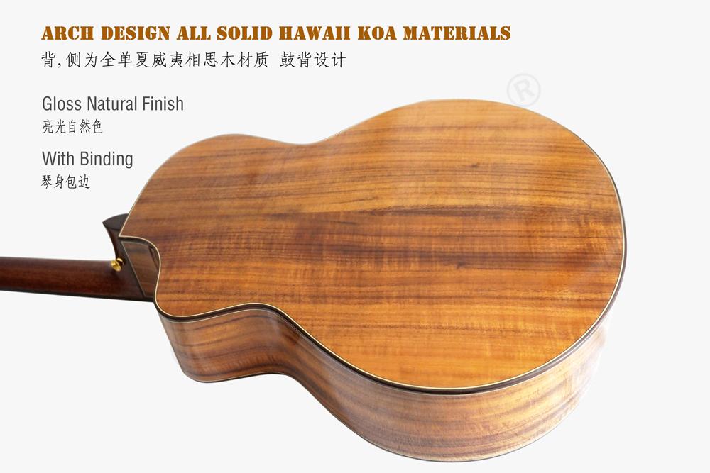 aiersi brand mini jumbo all solid acoustic guitar (6)