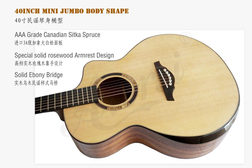 aiersi brand mini jumbo all solid acoustic guitar (7)