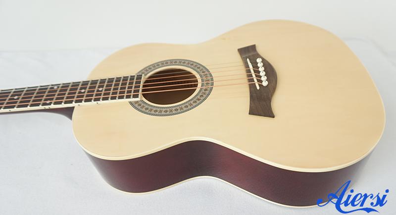 Aiersi colourful acoustic guitar