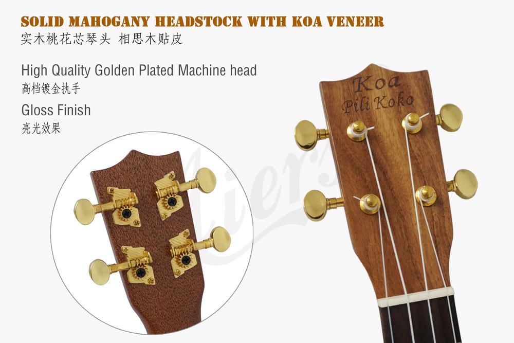 abalone binding all solid koa tenor ukulele  (4)