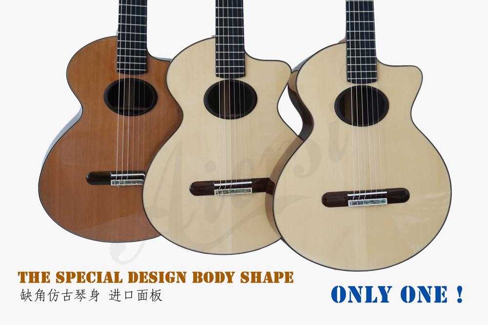 aiersi mini size vintage classical guitar (5)