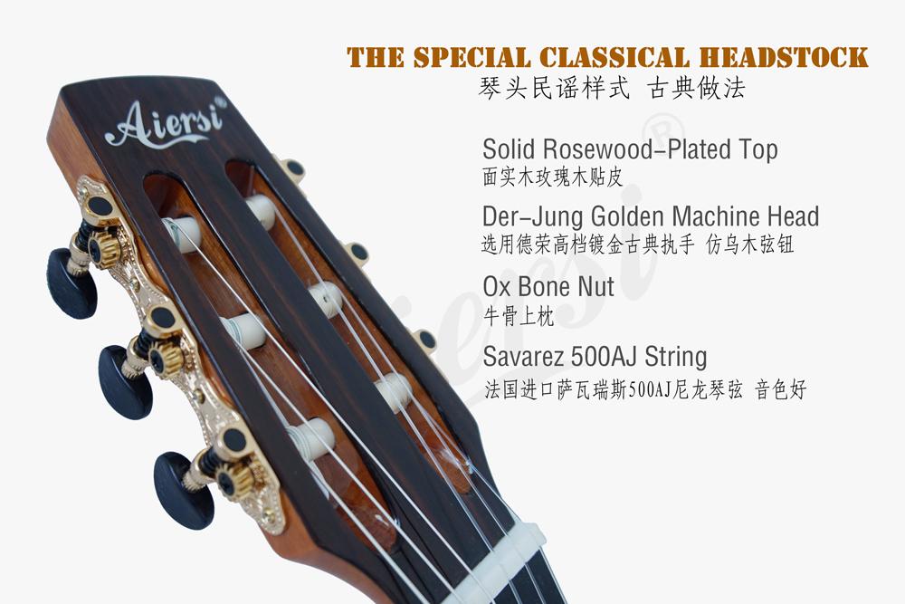 aiersi mini size vintage classical guitar (6)