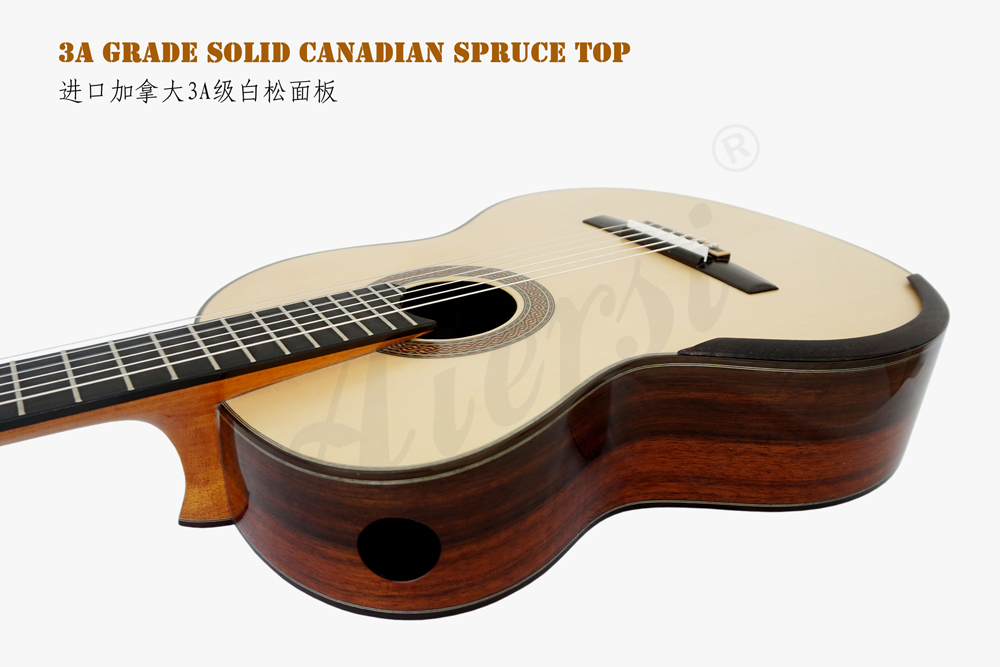 China aiersi brand smallman classical guitar for sale (8)