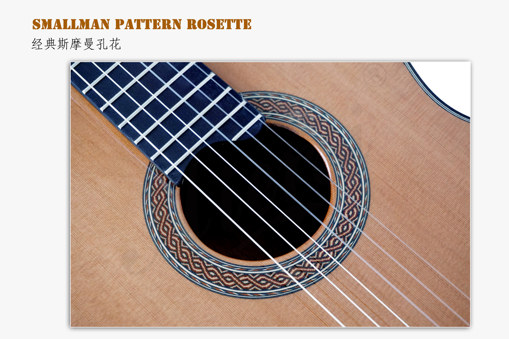 aiersi brand deluxe jave ebony smallman guitar  (5)