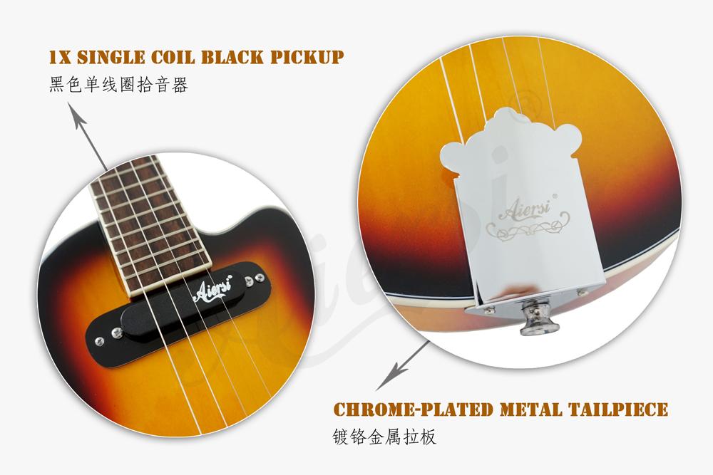aiersi brand hollow body jazz electric guitar (3)