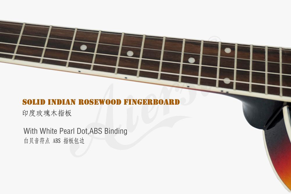 aiersi brand hollow body jazz electric guitar (4)