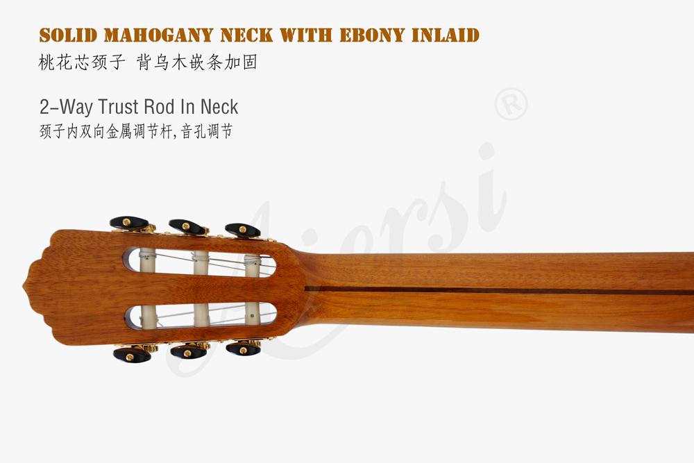 aiersi brand smallman guitar for sale  (4)