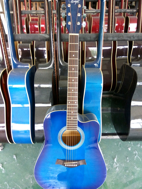 colour gloss acoustic guitar  (4)