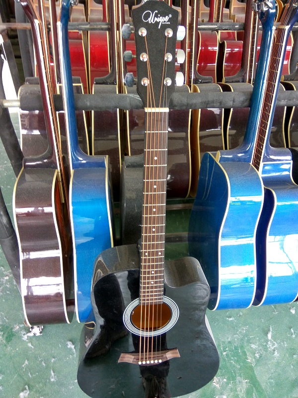 colour gloss acoustic guitar  (5)