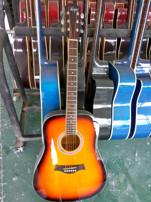 colour gloss acoustic guitar  (6)