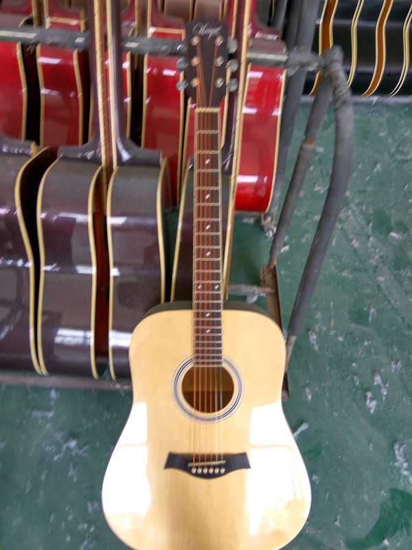 colour gloss acoustic guitar  (7)