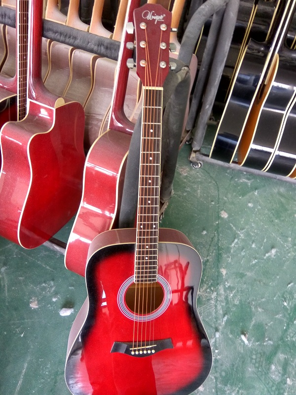 colour gloss acoustic guitar  (8)
