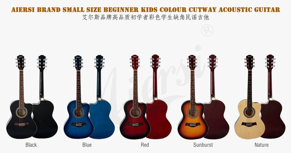36 inch small size acoustic guitar