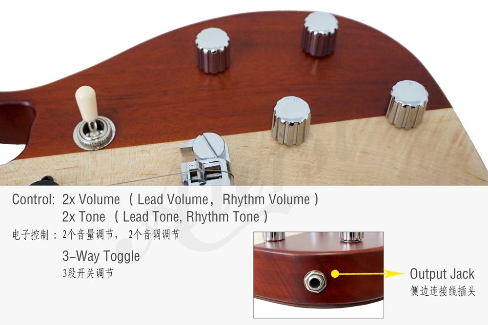 Aiersi brand electric ukulele for sale (3)