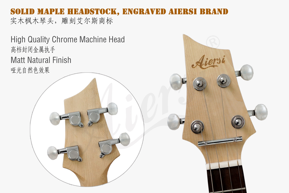 aiersi brand 26 inch solid body electric ukulele  (4)