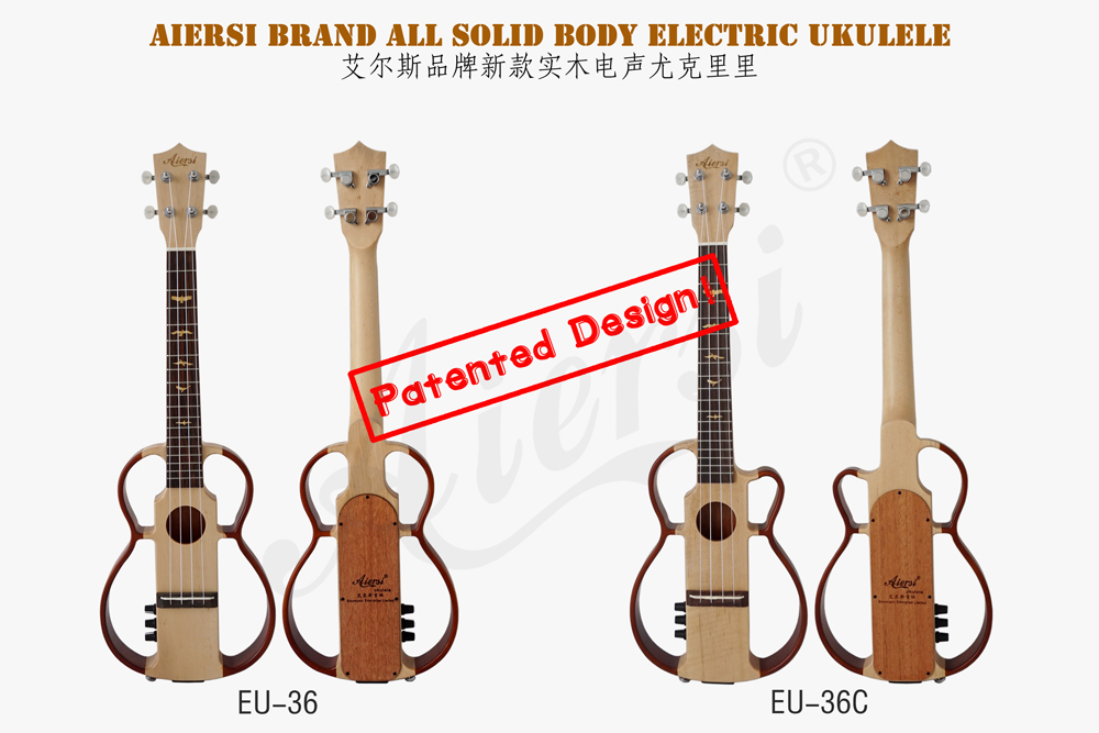 Aiersi brand nylon string electric ukulele for sale  (1)