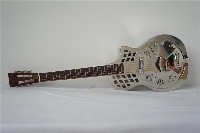 China aiersi electric parlour resonator guitar  (2)