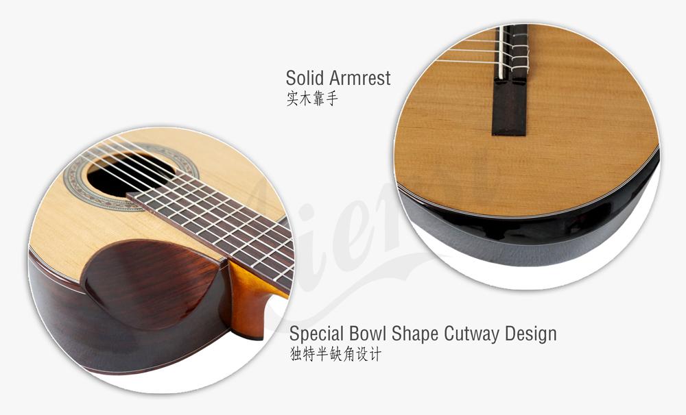 aiersi brand electric classical guitar (3)